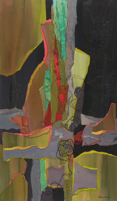 "Earth Song</br> 26"" x 44"""